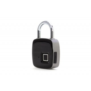 U-lock with fingerprint scanner
